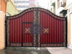 Doors, bars, garages, balconies, gazebos, fences, gates, forged