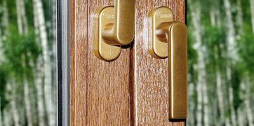 Протизломна віконна ручка Rehau Linea Design